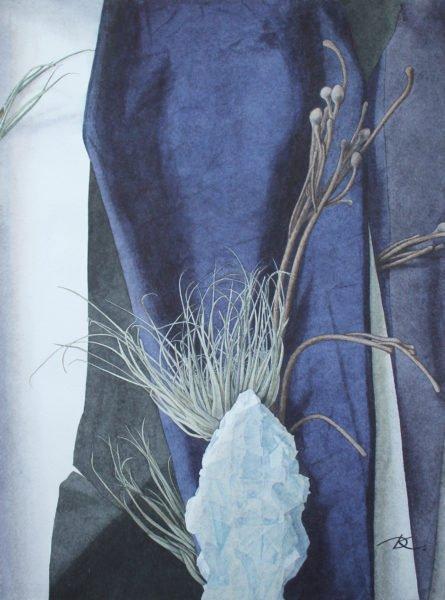 «Каменный цветок» художник Дарья Кириченко