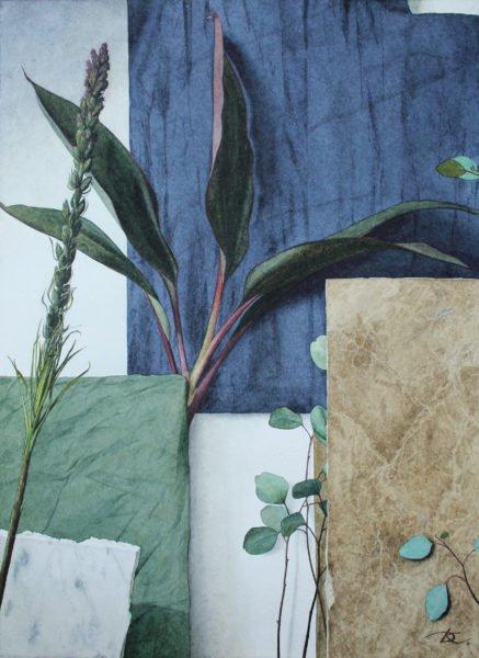 """Composition of free movement"" Daria Kirichenko. Graphics & art"