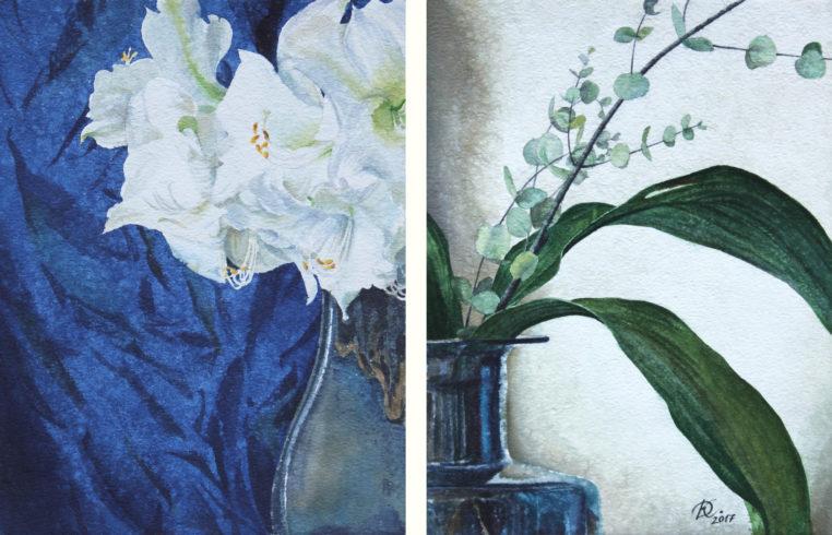 "diptych ""Curves"" Daria Kirichenko. Graphics & art"