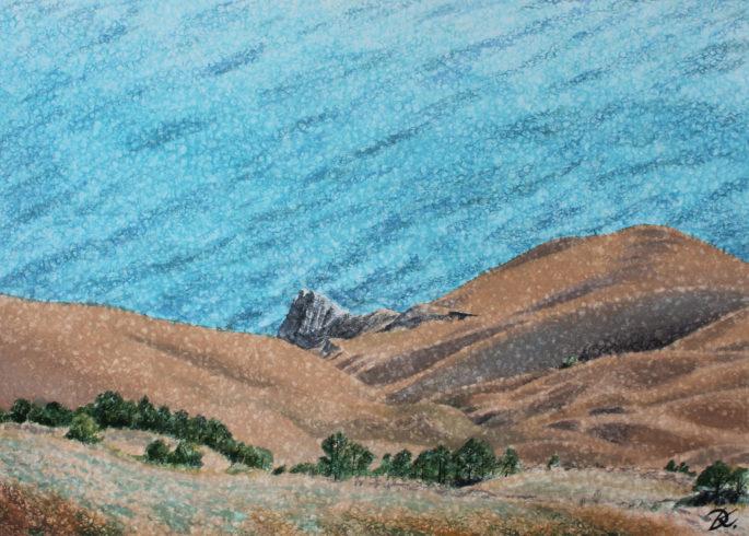 A View over the Stillness of the Sea Daria Kirichenko. Graphics & art