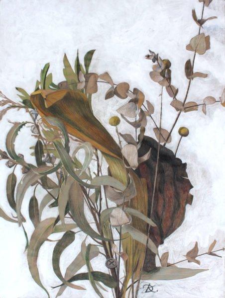"from Triptych ""Fragile Ikebanas"" Daria Kirichenko. Graphics & art"