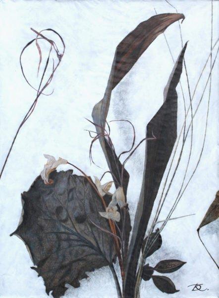 """""""Music. Strings."""" Daria Kirichenko. Graphics & art"""
