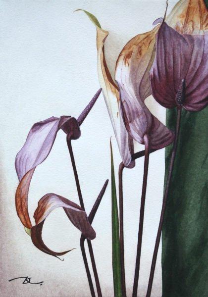 """Transformation of Fading"" Daria Kirichenko. Graphics & art"