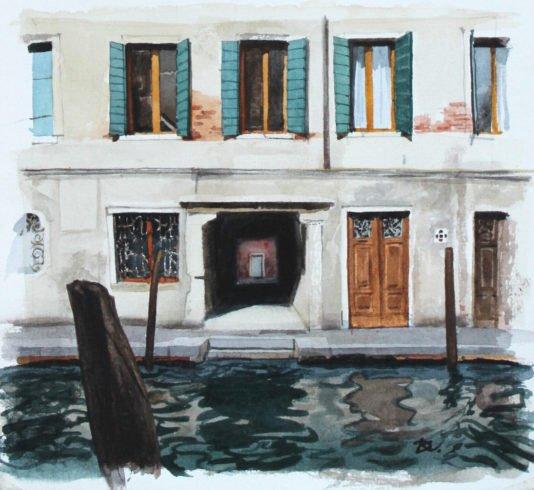 Small Italy. Fragment Daria Kirichenko. Graphics & art