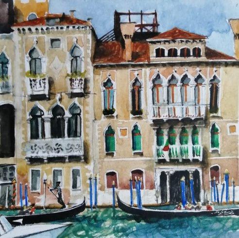 Fabulous city Daria Kirichenko. Graphics & art