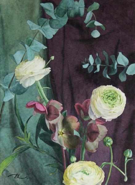 Tapestry motif Daria Kirichenko. Graphics & art