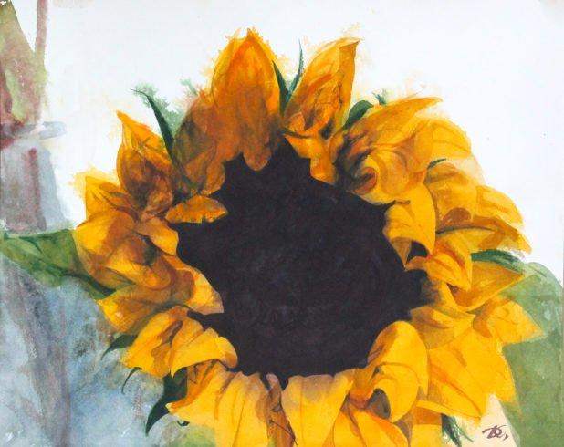 Flower-the sun Daria Kirichenko. Graphics & art