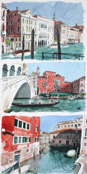 Canals and bridges Daria Kirichenko. Graphics & art