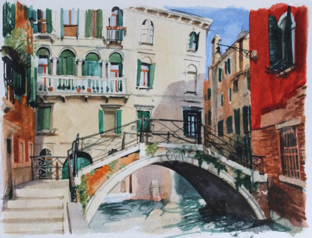 Sunny Venice Daria Kirichenko. Graphics & art
