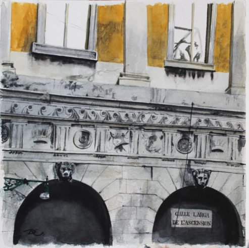 Calle Larga De L'ascension художник Дарья Кириченко