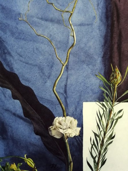Composition for reflection Daria Kirichenko. Graphics & art